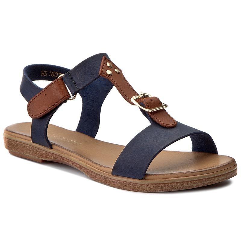 Sandały VIA RAVIA WS1807 2 Granatowy