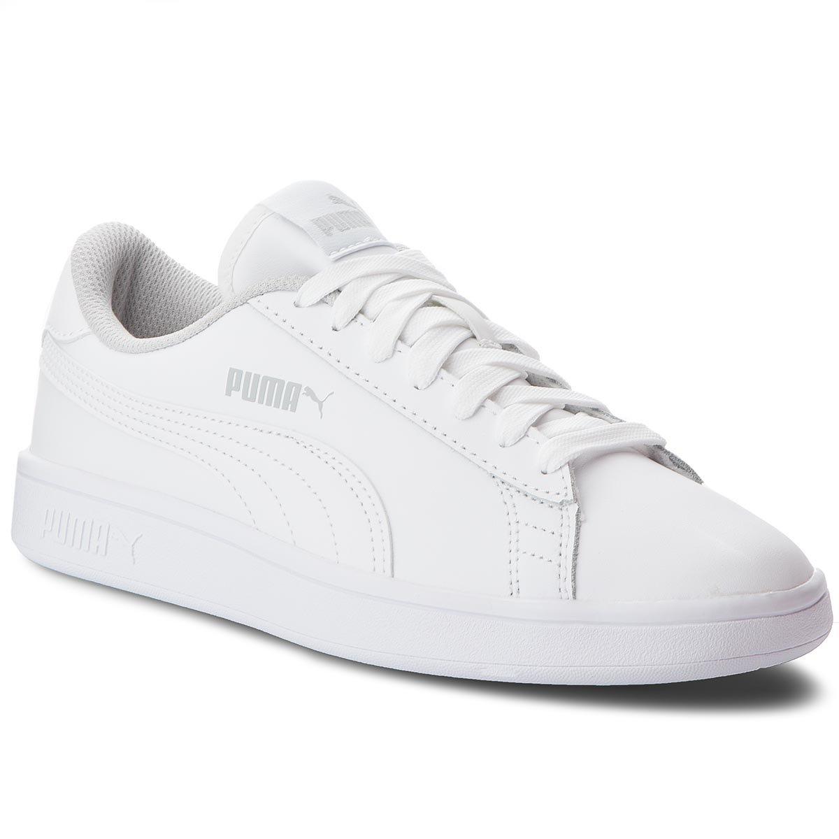 Obuwie sportowe Puma 36517002 Smash v2 L Jr Biały