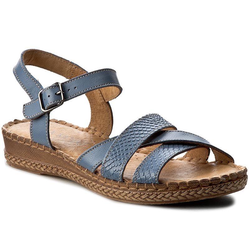 sandały lasocki 1880-04 niebieski