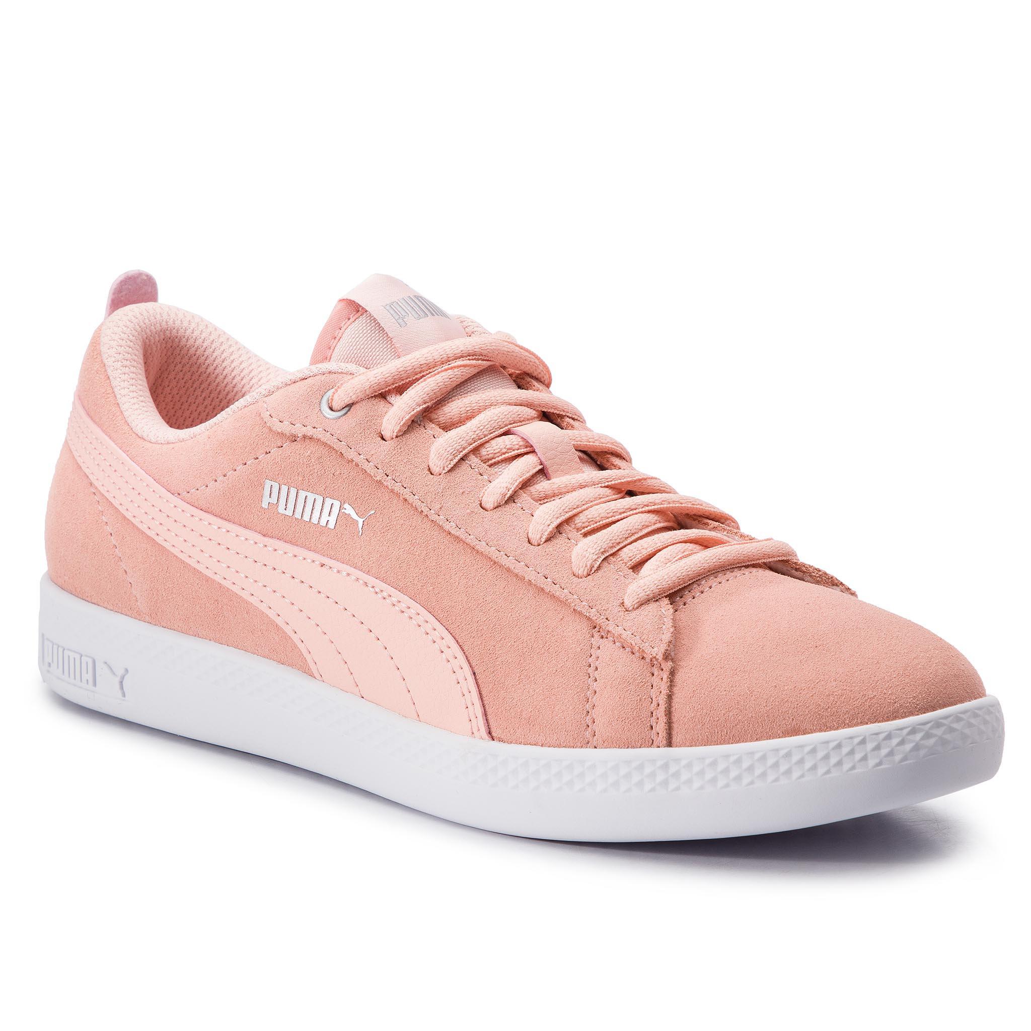 Obuwie sportowe Puma 36531314 Smash Wns v2 SD Różowy