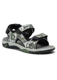 Sandały Sprandi CP81-18343 Zielony ciemny