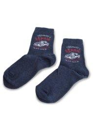 Dětské ponožky Action Boy 16N2AM30 rozm. 25-28 TMAVĚ MODRÁ