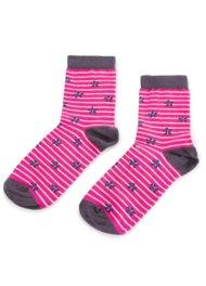 Dětské ponožky Nelli Blu 22U1M210 rozm. 34-38 RŮŽOVÁ