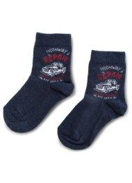 Dětské ponožky Action Boy 13N2AM30 rozm. 20-24 TMAVĚ MODRÁ