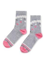 Dětské ponožky Nelli Blu 19L1UMS2 rozm. 29-33 ŠEDÁ