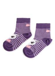 Dětské ponožky Nelli Blu 137J8368 rozm. 20-24 ŠEDÁ