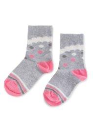 Dětské ponožky Nelli Blu 16L1UMS2 rozm. 25-28 ŠEDÁ