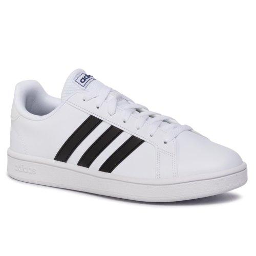 buty temperamentu wyglądają dobrze wyprzedaż buty moda designerska Obuwie sportowe ADIDAS GRAND COURT BASE EE7904 Biały