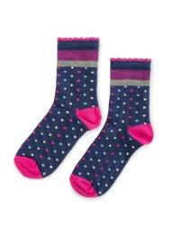 Dětské ponožky Nelli Blu 19L1B800 rozm. 29-33 TMAVĚ MODRÁ