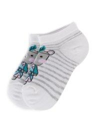 Dětské ponožky Nelli Blu SKARPETY DZIECIĘCE 13A5T000 BÍLÁ