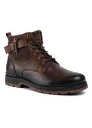 vysoká šnurovacia topánka Lasocki for men MI08-C394-423-09 HNEDÁ
