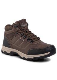 vysoká šnurovacia topánka SPRANDI EARTH GEAR MP07-17199-04 HNEDÁ