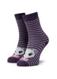 Dětské ponožky Nelli Blu 167J8368 rozm. 25-28 ŠEDÁ